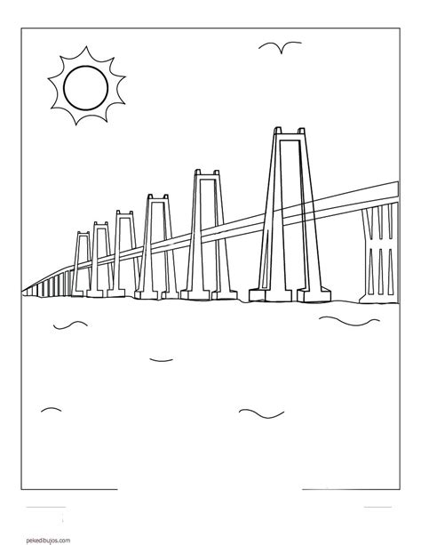 dibujo de rafael urdaneta para colorear para nios dibujo de rafael urdaneta para pintar dibujos de puentes