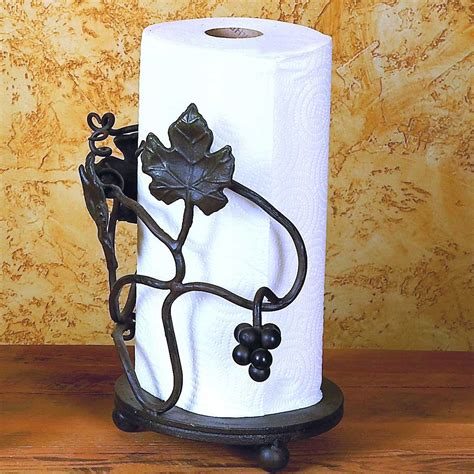 kitchen chili pepper towels wrought iron wall decor pictured here is the wrought iron grape vine paper towel