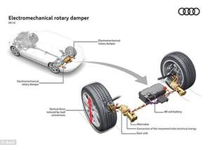 Car Shock Absorber System Audi S New Shock Absorber System Generates Electricity