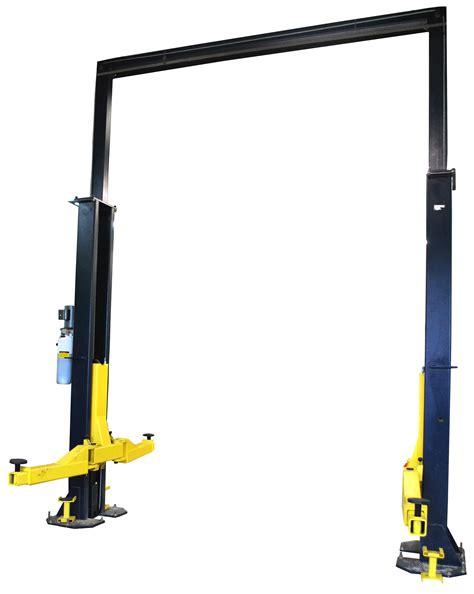 2 post car lift 2 post car lifts eagle equipment