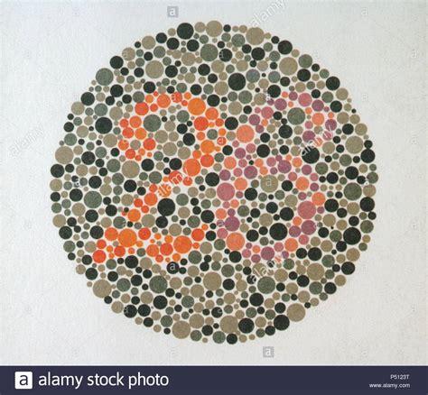 color perception test color blindness test stock photos color blindness test