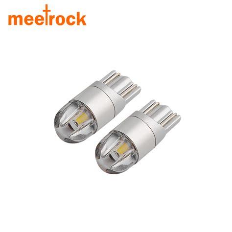 automotive dome light meetrock 2 pcs t10 led car light smd 3030 marker l w5w