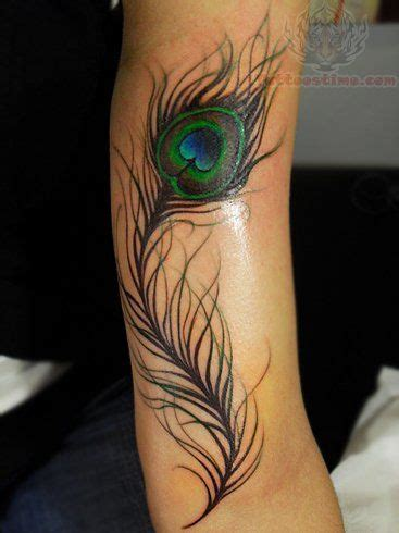 feather tattoo calf arm peacock feather tattoo design tats pinterest