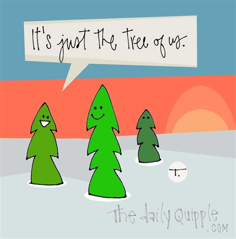 christmas tree puns trees the daily quipple