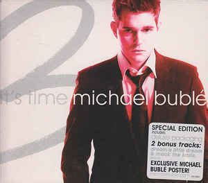 michael buble swing album michael bubl 233 it s time cd album at discogs