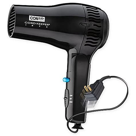 Conair Hair Dryer Q3 conair 174 cord keeper 174 ion shine hair dryer bed bath beyond