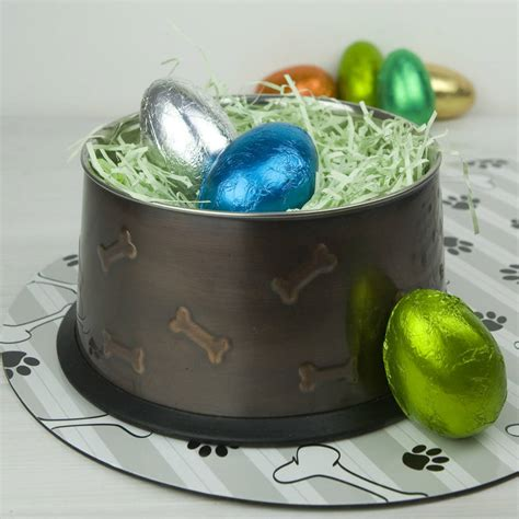 eggshells for dogs easter eggs for dogs by the barker bakery notonthehighstreet