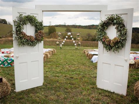 Wedding Doors by Diy Projects And Ideas For Creating A Rustic Style Wedding