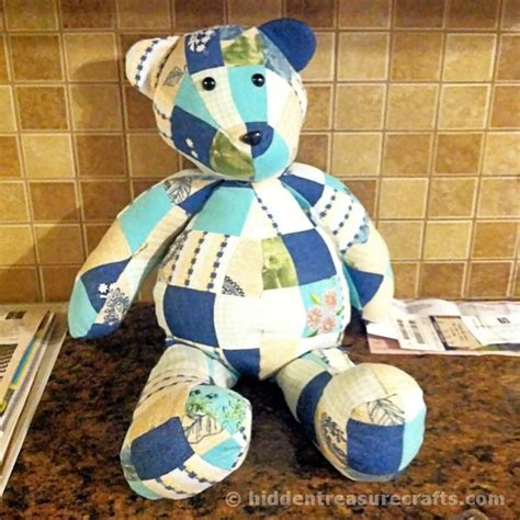 memory teddy bear patterns keep a loved one close to you at all times use a piece of