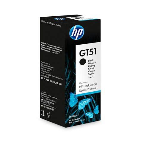 Tinta Hp 703 Black 1 botella de tinta original negra hp gt51 m0h57al ktronix