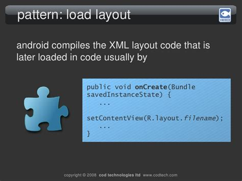 android pattern xml android development workshop v2