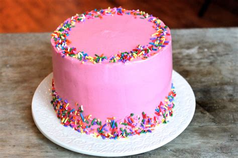 Or Cake Pink Vanilla Bean Celebration Cake The Epicurean