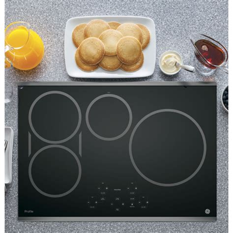 Ge Profile 30 Inch Induction Cooktop ge php9030sjss profile series 30 quot induction cooktop brandsmart usa