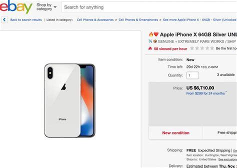 ebay iphone x iphone x re sale is the new way to make quick bucks must see