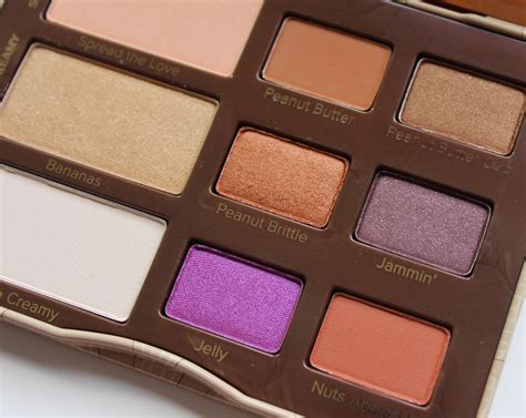 Eyeshadow Jelly review faced peanut butter and jelly eyeshadow palette