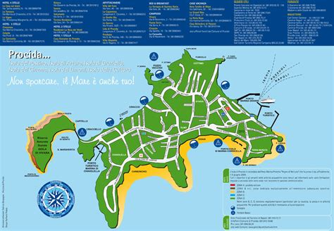 piantina isola di procida raffaele pedata