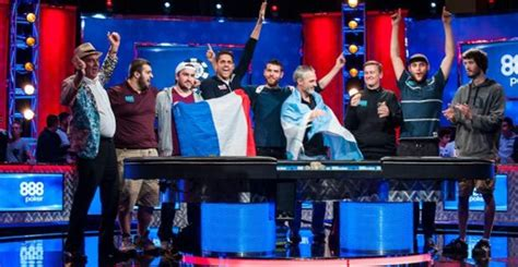 wsop event table 2017 wsop 2017 blumstein leads event tables