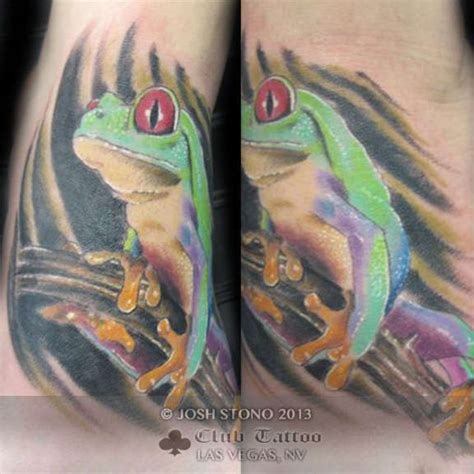 tattoo convention las vegas 2018 joshstono frog
