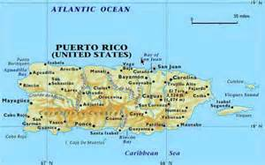 Puerto Rico Maps by Puerto Rico Student Of The Crazy Life