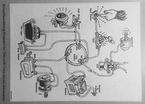 harley generator wiring diagram 1951 pontiac
