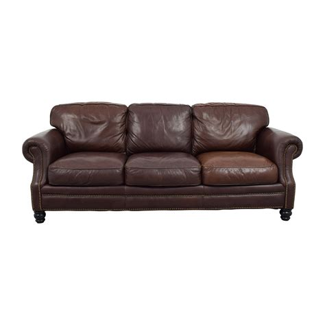 3 cushion leather pier 1 second hand second hand