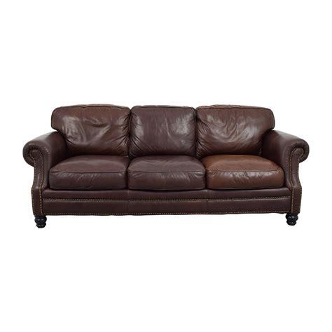 sofa with spring cushions ashton sofa 10 spring street ashton faux leather sofa bed
