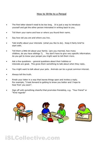 pen pal letter template pen pal letter writing template for children this