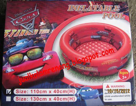 Kolam Renang Anak Cars Bulat 110cm jual kolam renang kolam renang anak
