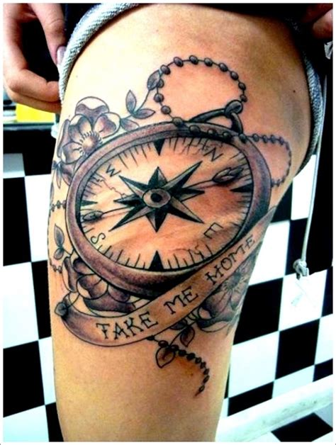 compass tattoo designs for women amazing compass ideas best 2015 designs