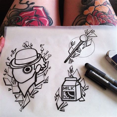 clockwork tattoo designs the 25 best clockwork orange ideas on