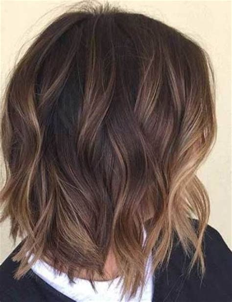 medium brown hair balayage pictures to pin on pinterest 35 balayage styles for short hair short hair balayage