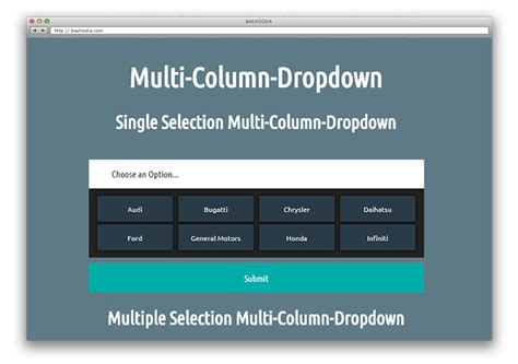 html css multi column layout 30 jquery plugins for styling html form elements web
