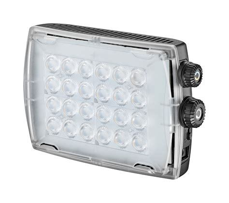 Led Light Croma2 With Gel Diffuser And Ball Head Led Light Diffuser