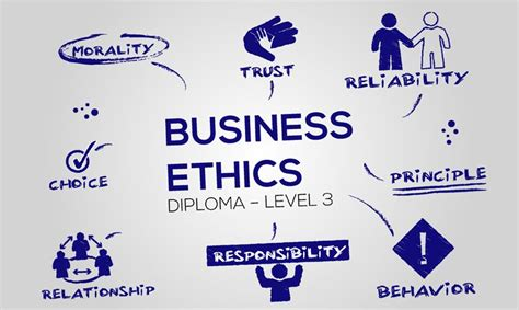 Business And Ethics Mba by Diploma In Business Ethics Level 3 With Certification