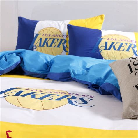 La Lakers Bedding Sets Los Angeles Lakers Basketball Bedding Set Ebeddingsets