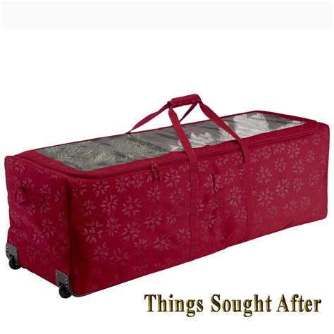 artificial tree duffel storage for christmas tote bin box