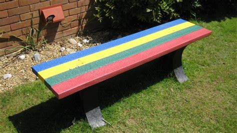 plastic benches uk recycled plastic benches patteston lodge activity centre