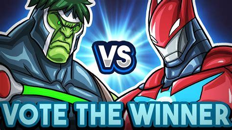 566 Iron 2610 Vs Captain America baulk vs ironbat vote the winner