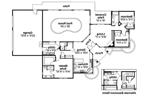 images of floor plans ranch house plans williston 30 165 associated designs
