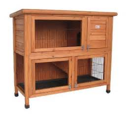 Double Bunny Hutch Bunny Business Double Rabbit Hutch 41 Inch