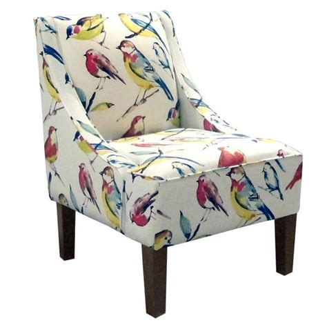 printed armchairs printed accent chairs with arms upholstered accent chair