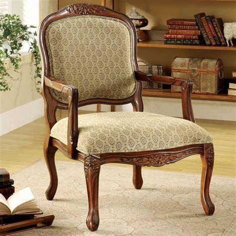 home decorators accent chairs home decorators collection quintus antique oak fabric arm chair cm ac6919 the home depot