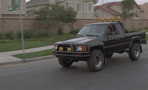 Toyota Truck Back To The Future Toyota Creates Bad Homage To Marty Mcfly S