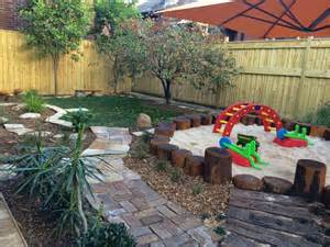 Small Garden Ideas For Toddlers Let The Children Play Just Add Sand