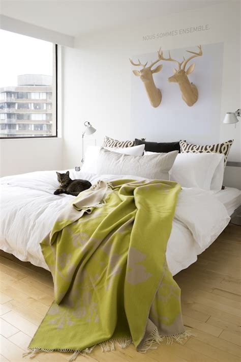 Blanket From The Bedroom by Chartreuse Throw Blanket Contemporary Bedroom House