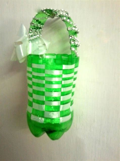 Keranjang Minuman keranjang dari botol bekas berbagi indonesia