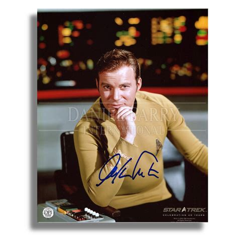 official website for nhl ice effects artist daniel parry william shatner signed autographed 8x10 photo star
