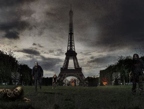 designcrowd background designers imagine famous world landmarks after a zombie