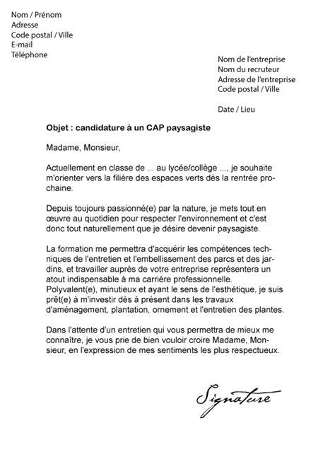 lettre de motivation vae contrat de travail 2018