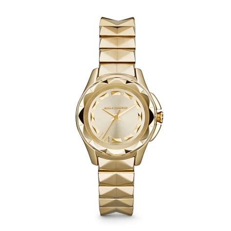 Karl Lagerfeld Gold karl lagerfeld karl 7 gold bracelet in gold lyst